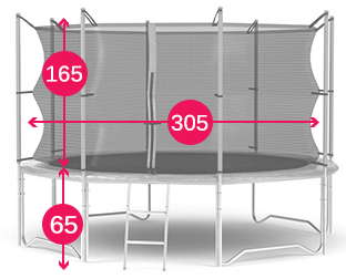 Trampolina JS 10 FT info